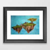Island For Two Framed Art Print