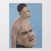 Bellyhead Canvas Print