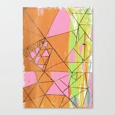 Fleuro Canvas Print