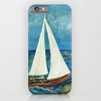 iPhone & iPod Case featuring A Day at Sea by gretzky