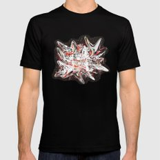 Mind bending Splat Mens Fitted Tee SMALL Black