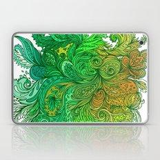Floral Indian Pattern 01 Laptop & iPad Skin