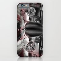 Red white and blue cat iPhone 6 Slim Case