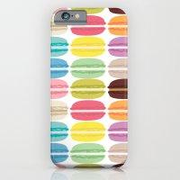 Rainbow Macarons iPhone 6 Slim Case