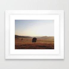 La Grande Morning Framed Art Print