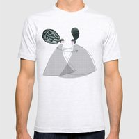 Best friend Mens Fitted Tee Ash Grey SMALL