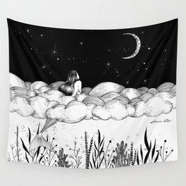 Wall Tapestry - Moon River - Henn Kim