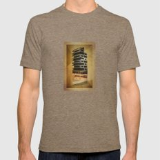 Architecture 1 Mens Fitted Tee Tri-Coffee SMALL