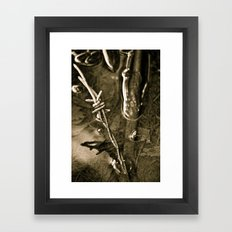What's Left Behind Framed Art Print