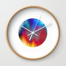 earth, wind and fire Wall Clock