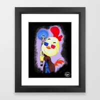Who Dis Doctor 10 Framed Art Print