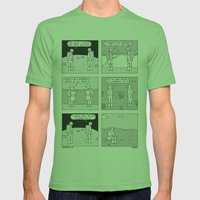 Different Mens Fitted Tee Grass SMALL