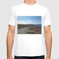 The Long Road Mens Fitted Tee White SMALL
