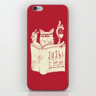 iPhone & iPod Skin featuring Sushi For Cats by Tobe Fonseca