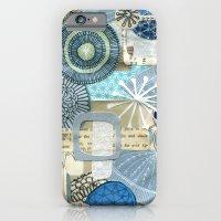 Blue Collage iPhone 6 Slim Case