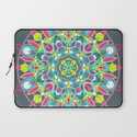 Mandala - Dark Neon Laptop Sleeve