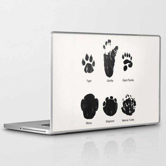 Animal Track Laptop & iPad Skin