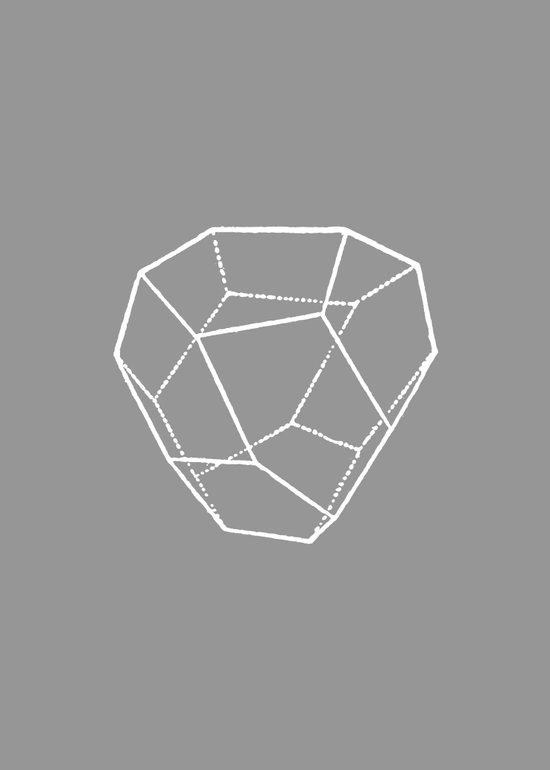 Tetrahedral Pentagonal Dodecahedron Art Print