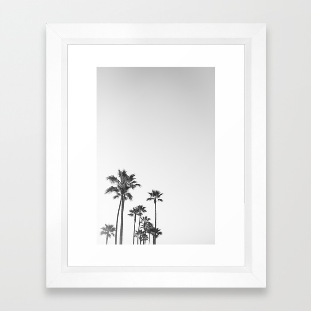 Black White And Landscape Framed Art Prints Society6