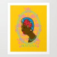 HAVANERA Art Print