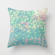 Mermaid's Purse Throw Pillow