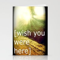 Wish You Were Here Stationery Cards