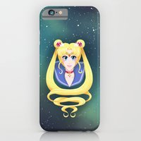 iPhone & iPod Case featuring Sailor Moon and the Inner Senshi by Caz Lock