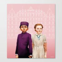 The Grand Budapest Hotel Canvas Print