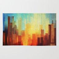 Urban Sunset Rug