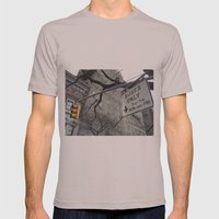 Lights And Signs Mens Fitted Tee Cinder SMALL