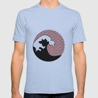 The Wave - La Vague Mens Fitted Tee Athletic Blue SMALL