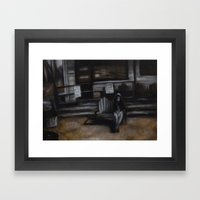 Wendy Framed Art Print