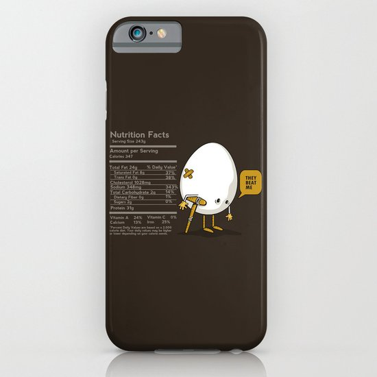 They Beat Me iPhone & iPod Case