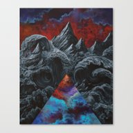 Canvas Print featuring It Was The Internal Land… by Anthony Hurd