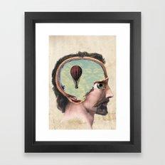 Voyage To The Subconscio… Framed Art Print