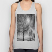 The Ghostly Farm Unisex Tank Top