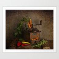 Vintage Food Processor  Art Print