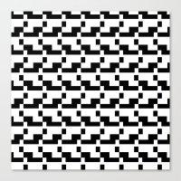 Blankaart Black & White … Canvas Print