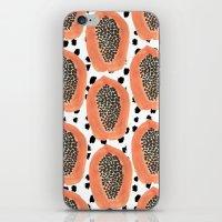 Bold Papayas iPhone & iPod Skin