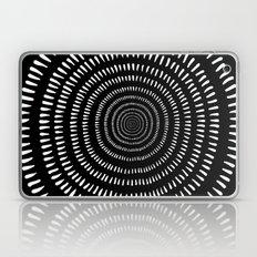 Fjorn black Laptop & iPad Skin