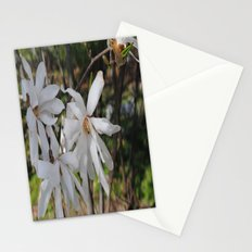 waving flowerheads Stationery Cards