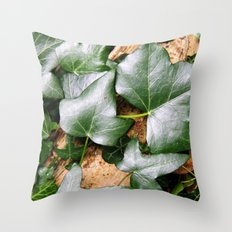 Forest Ivy Throw Pillow