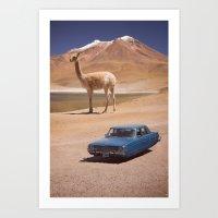 Let's Take a Photo! Art Print