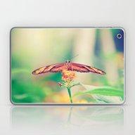 Butterfly Retro Laptop & iPad Skin
