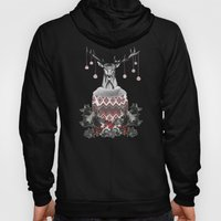 CHRISTMAS DEER (by Nika … Hoody