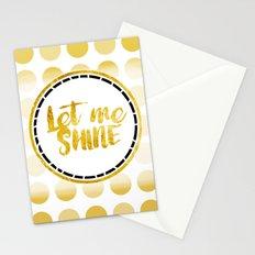 Let Me Shine Stationery Cards
