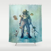 Deep Sea Garden  Shower Curtain