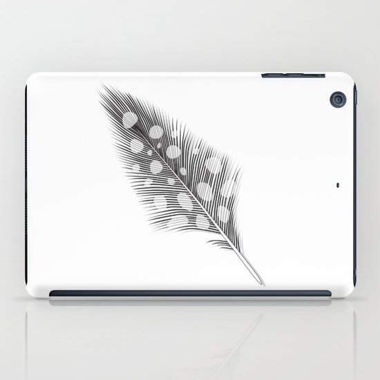 Polka Dotted Feather iPad Case
