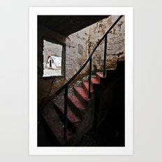 Stairs to Redemption Art Print