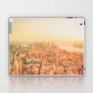 New York City Sunset Laptop & iPad Skin